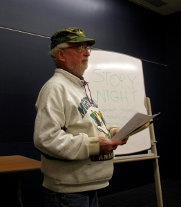 Tom Glassel reads this essay at our South Madison Story Night, November 13, 2012.