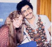 Sarah and Halim, 1978, Dijon, France