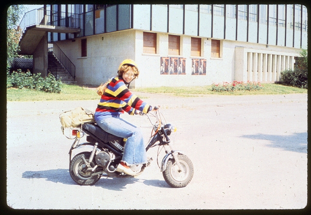 1978 Sarah U-Dijon Motorscooter