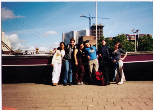 me and my friends in Rotterdam. I'm the one on the far right.