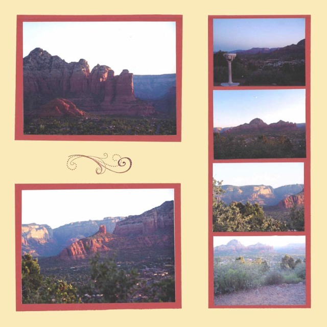 sedona sunrise pages - right