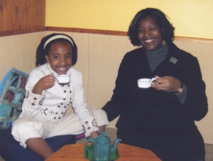 Dawn Crim at Mother and Daughter Tea