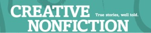 Creative Nonfiction masthead
