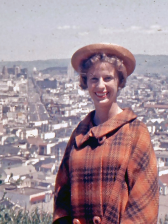 Dorothy Ross in San Francisco, 1961